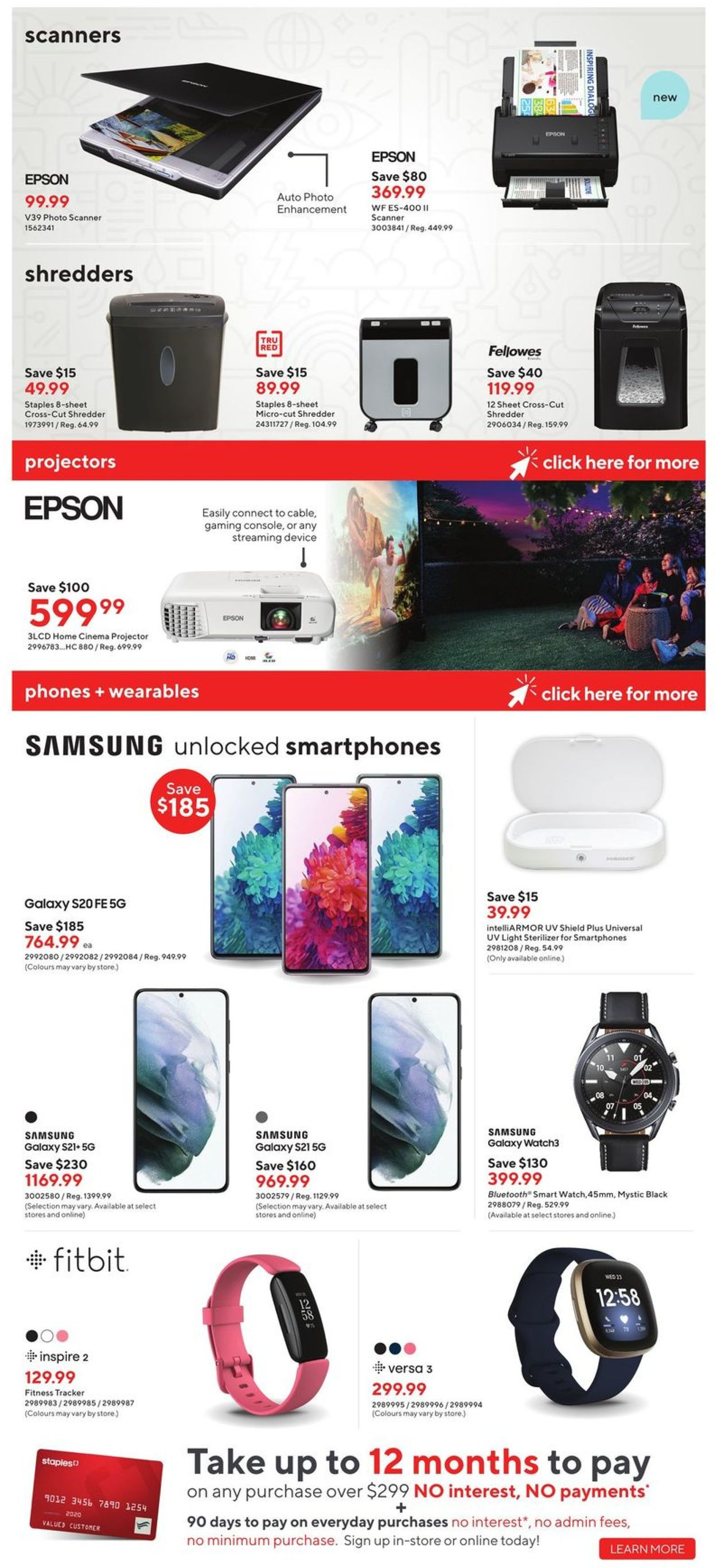 Staples Flyer - 06/09-06/15/2021 (Page 12)