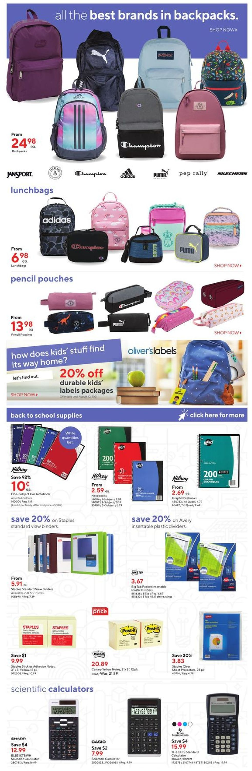 Staples Flyer - 07/21-07/27/2021 (Page 3)