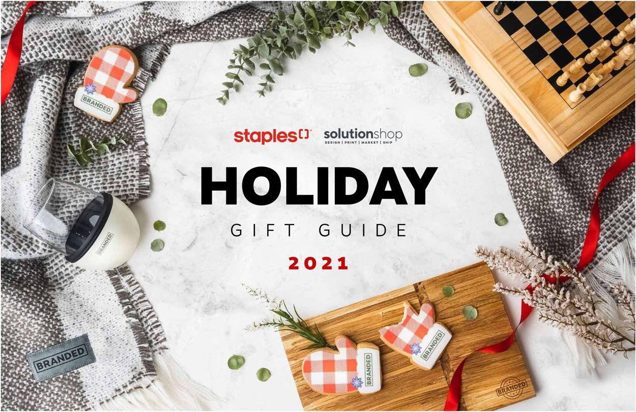 Staples Flyer - 09/21-12/31/2021