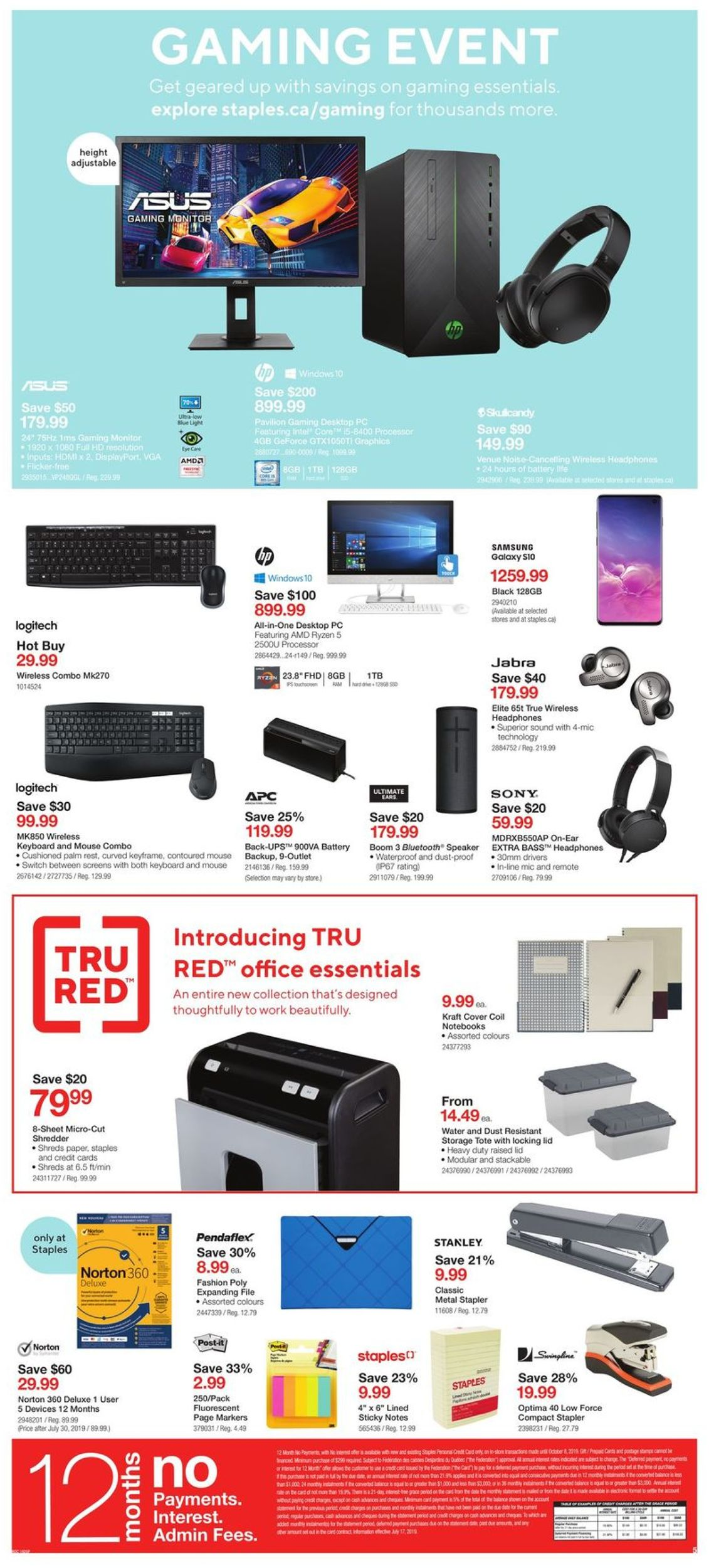Staples Flyer - 07/24-07/30/2019 (Page 5)