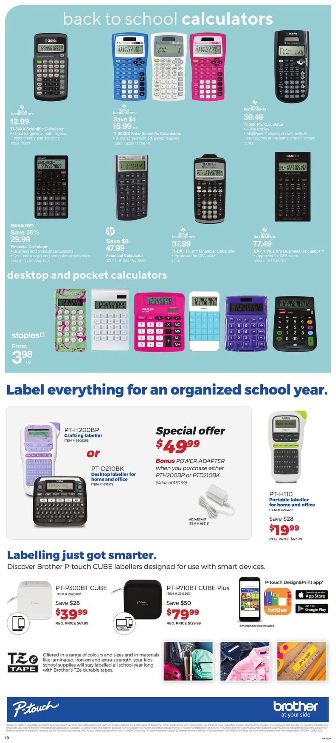 Staples Flyer - 08/14-08/20/2019 (Page 9)