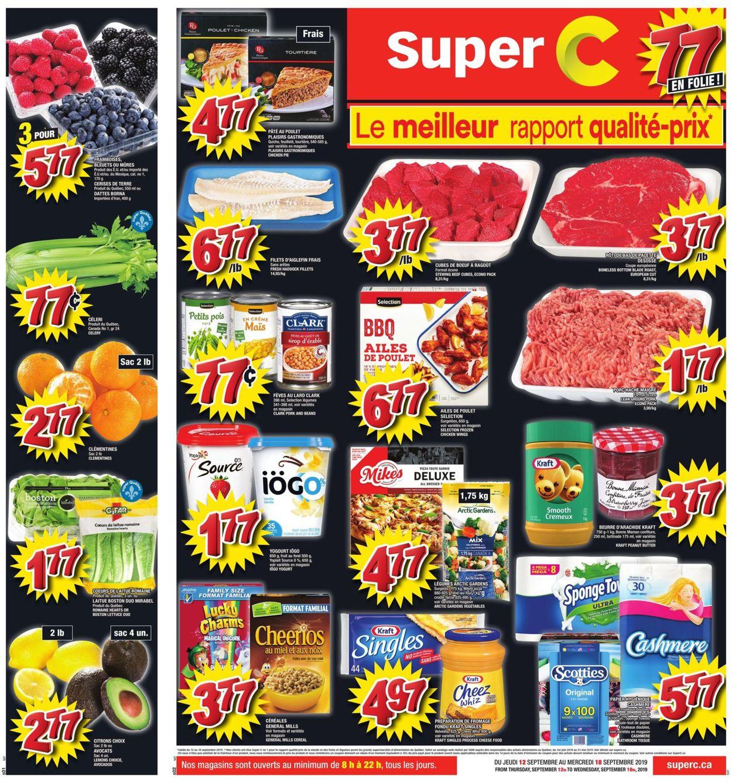 Super C Flyer - 09/12-09/18/2019