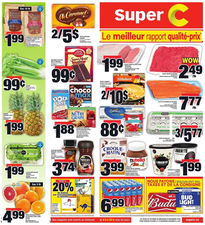 Super C Flyer - 10/31-11/06/2019