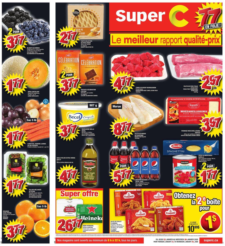Super C Flyer - 01/23-01/29/2020