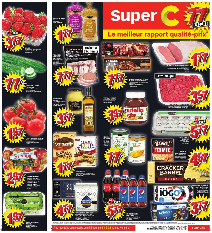 Super C Flyer - 03/12-03/18/2020