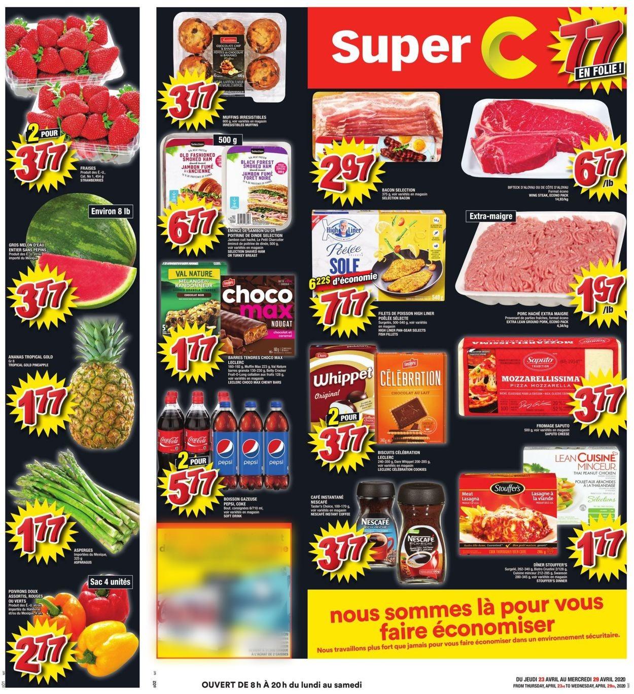 Super C Flyer - 04/23-04/29/2020