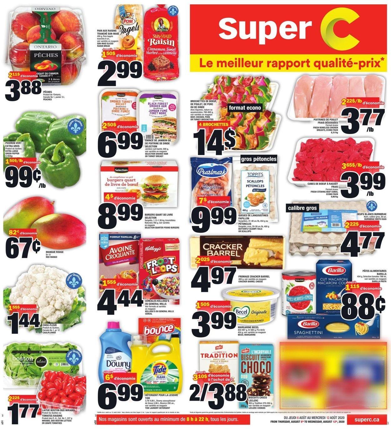 Super C Flyer - 08/06-08/12/2020