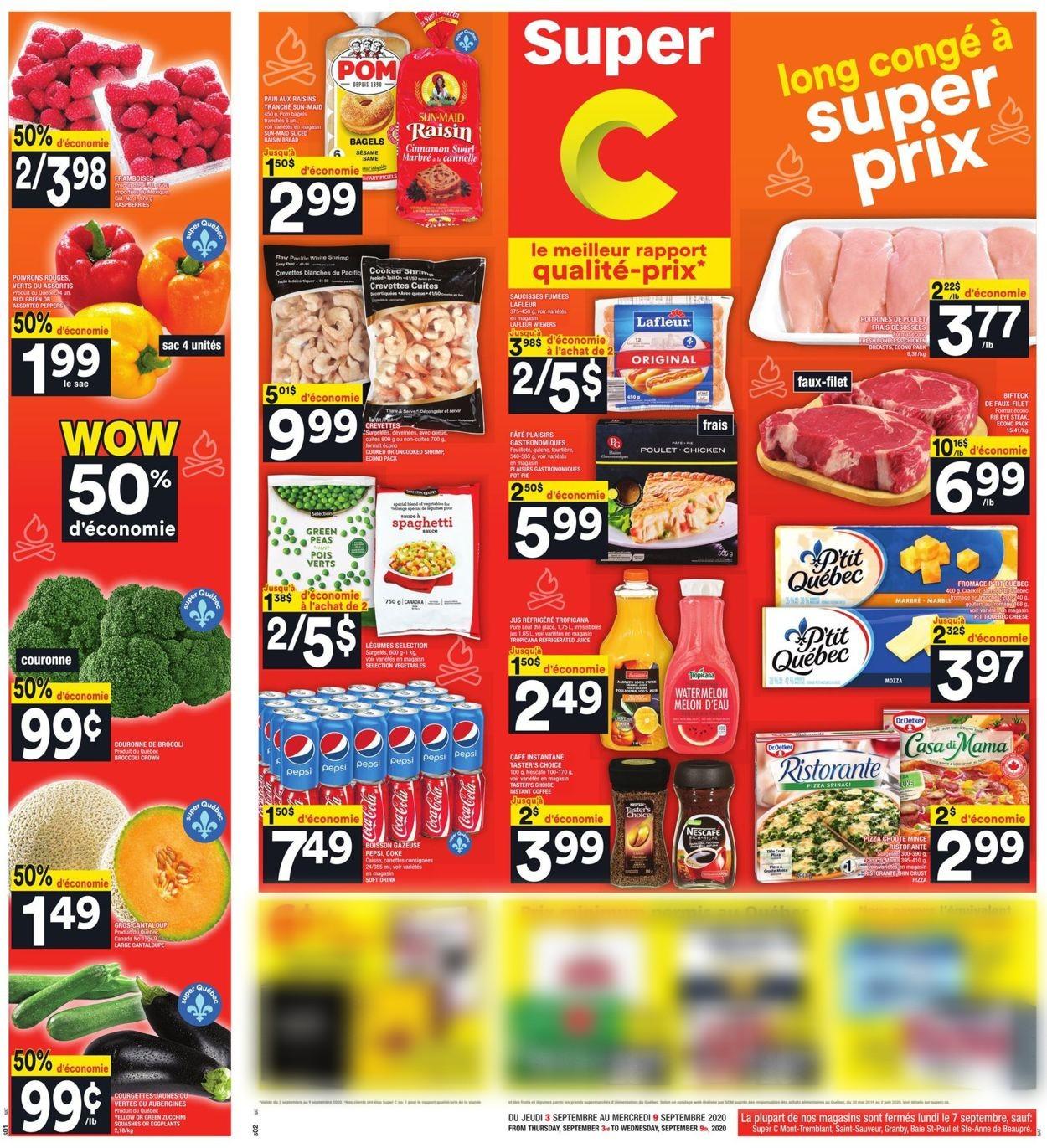 Super C Flyer - 09/03-09/09/2020