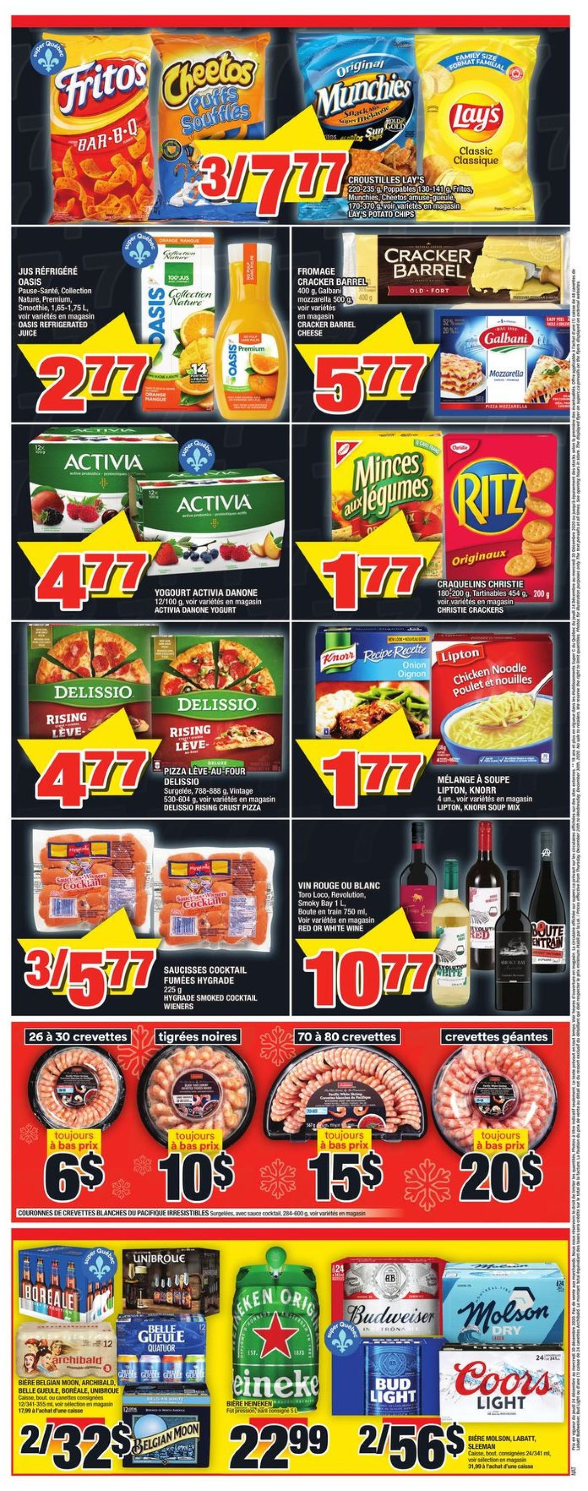 Super C Holiday 2020 Flyer - 12/24-12/30/2020 (Page 2)