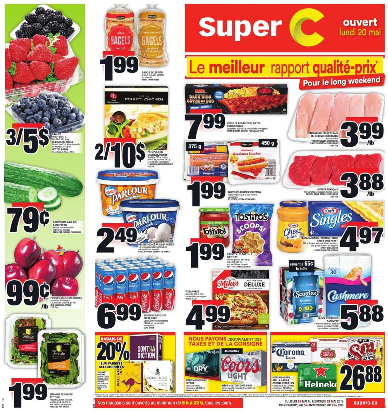 Super C Flyer - 05/16-05/22/2019