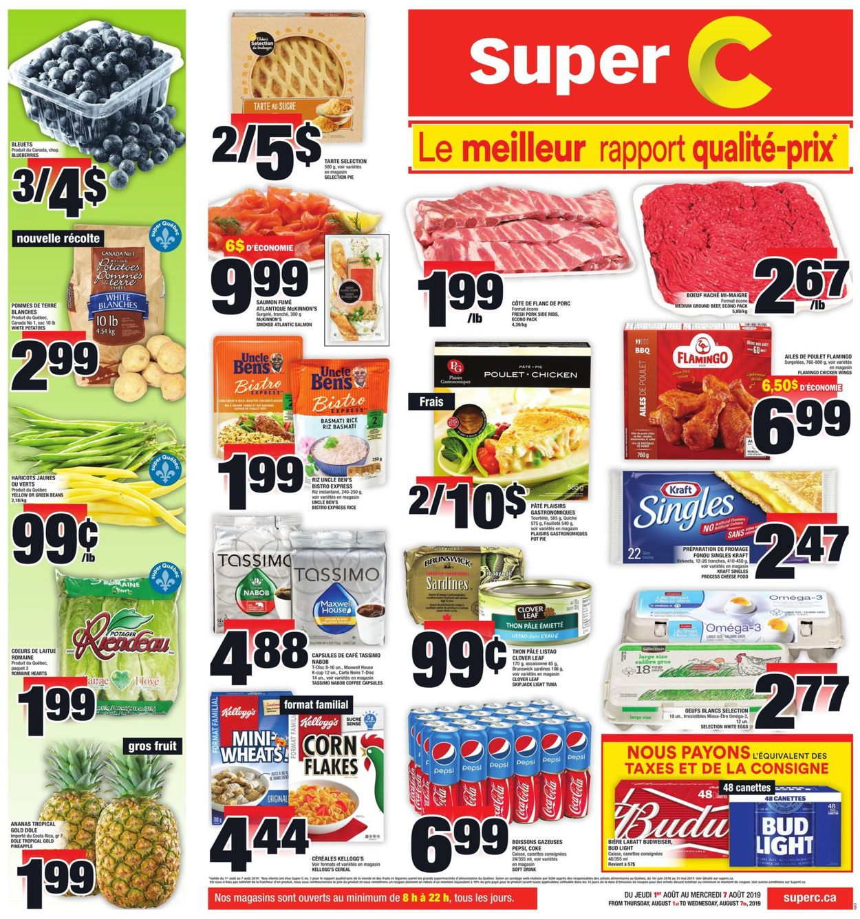 Super C Flyer - 08/01-08/07/2019