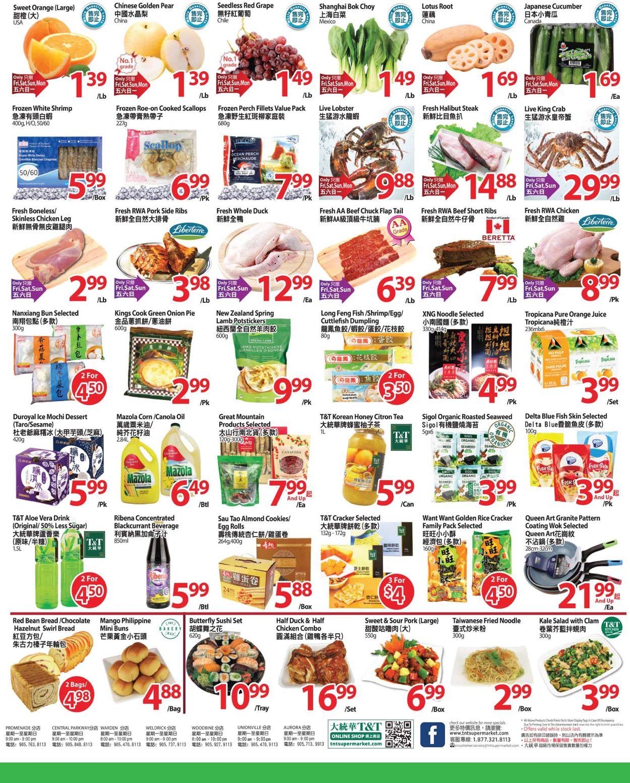 T&T Supermarket Flyer - 05/01-05/07/2020 (Page 2)