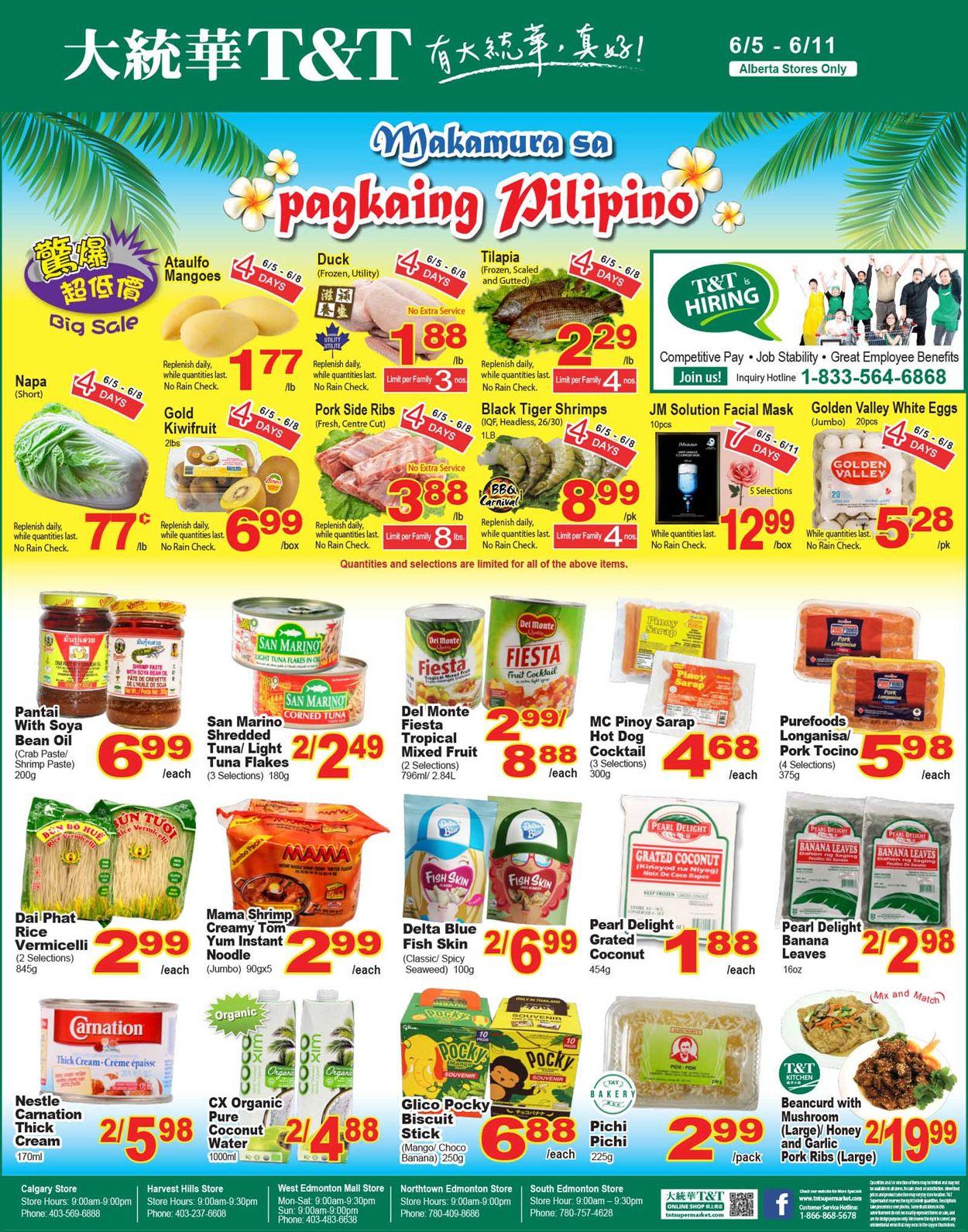 T&T Supermarket Flyer - 06/05-06/11/2020 (Page 5)