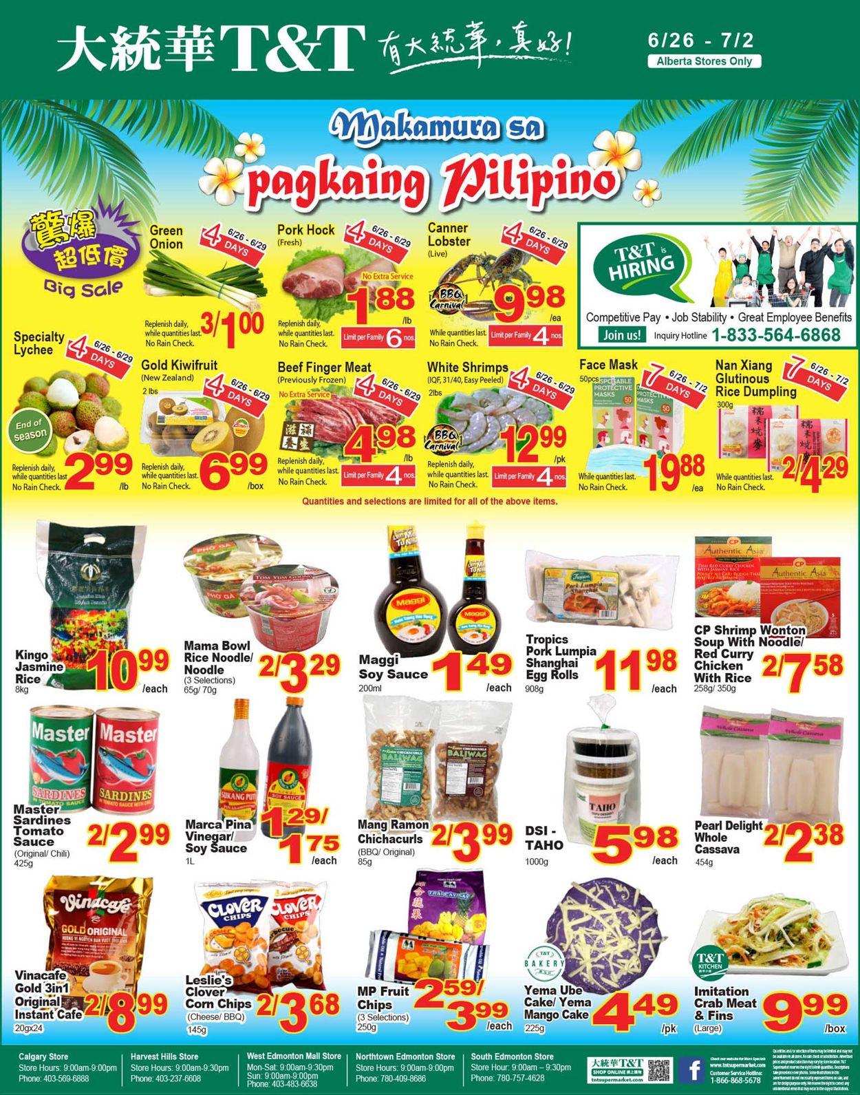 T&T Supermarket Flyer - 06/26-07/02/2020 (Page 10)