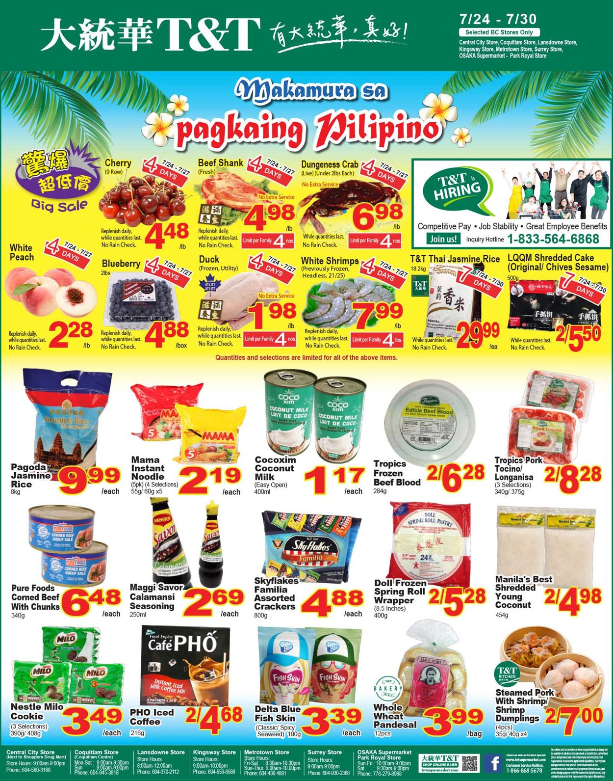 T&T Supermarket Flyer - 07/24-07/30/2020 (Page 11)