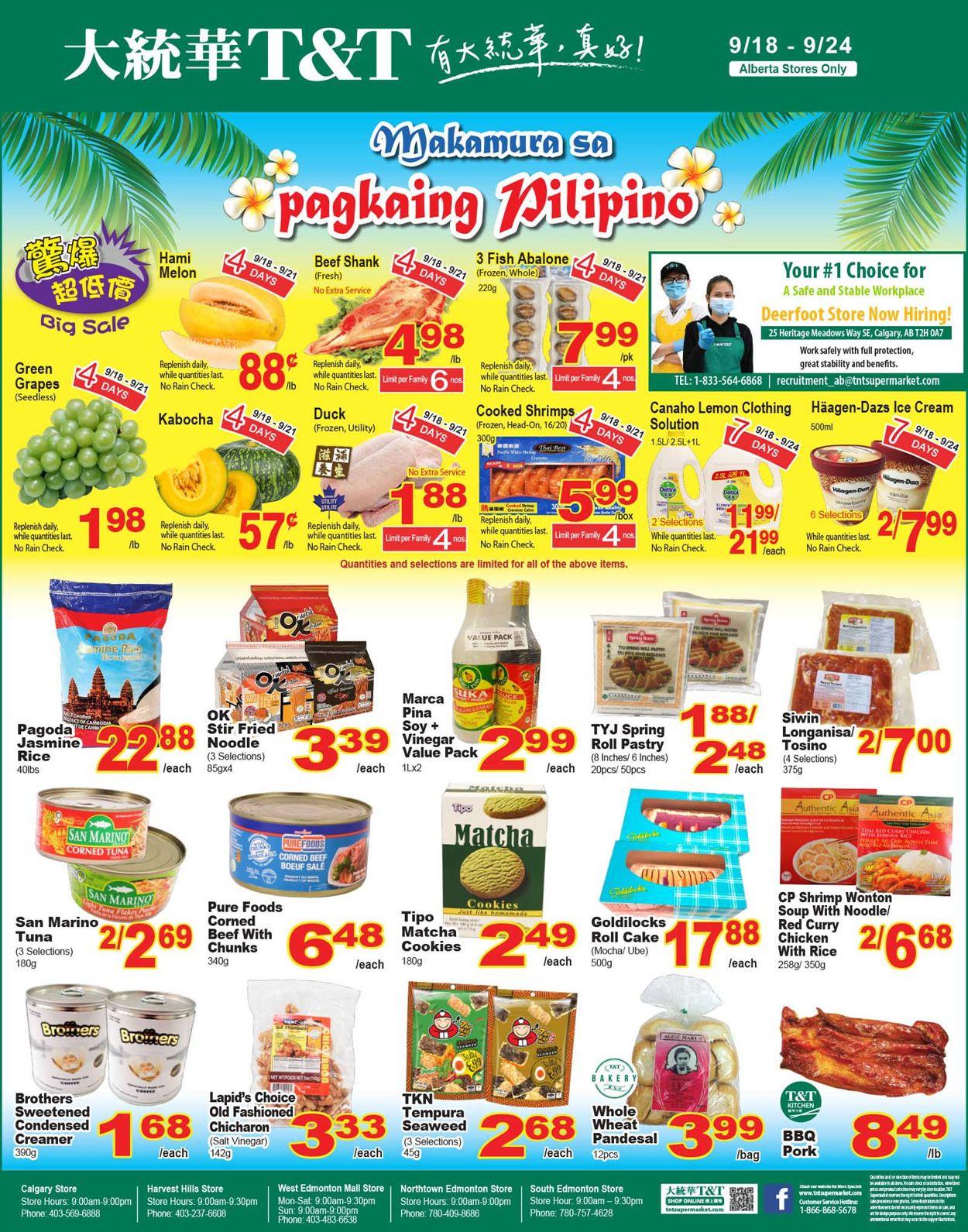 T&T Supermarket Flyer - 09/18-09/24/2020 (Page 4)