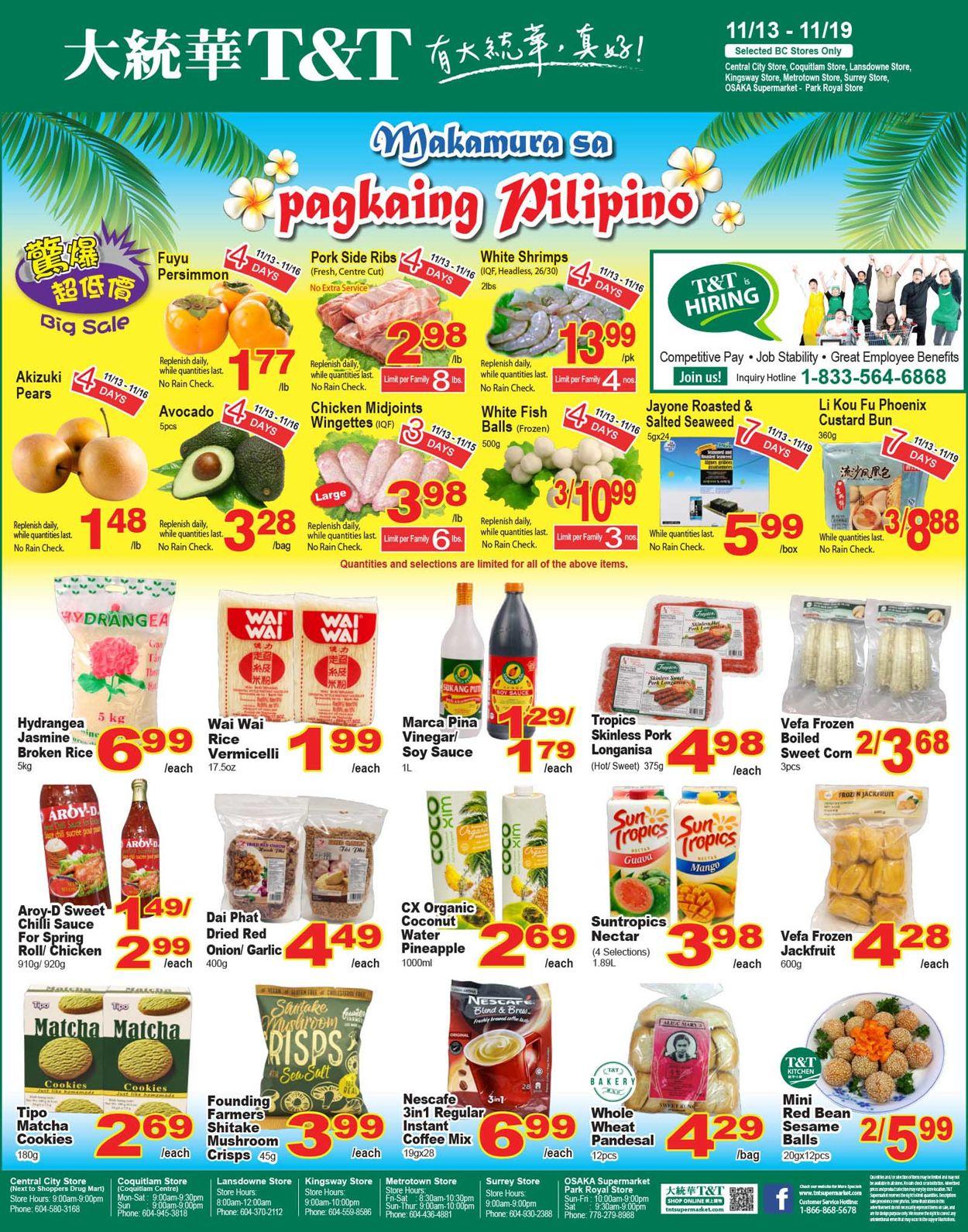 T&T Supermarket - British Columbia Flyer - 11/13-11/19/2020 (Page 4)