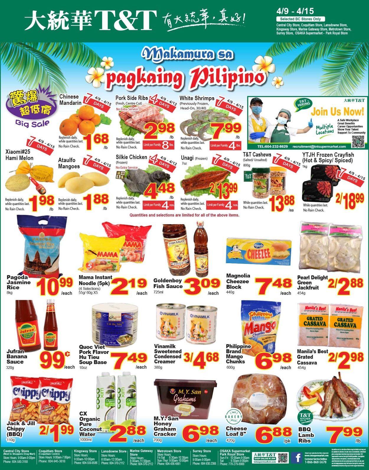 T&T Supermarket - British Columbia Flyer - 04/09-04/15/2021 (Page 4)