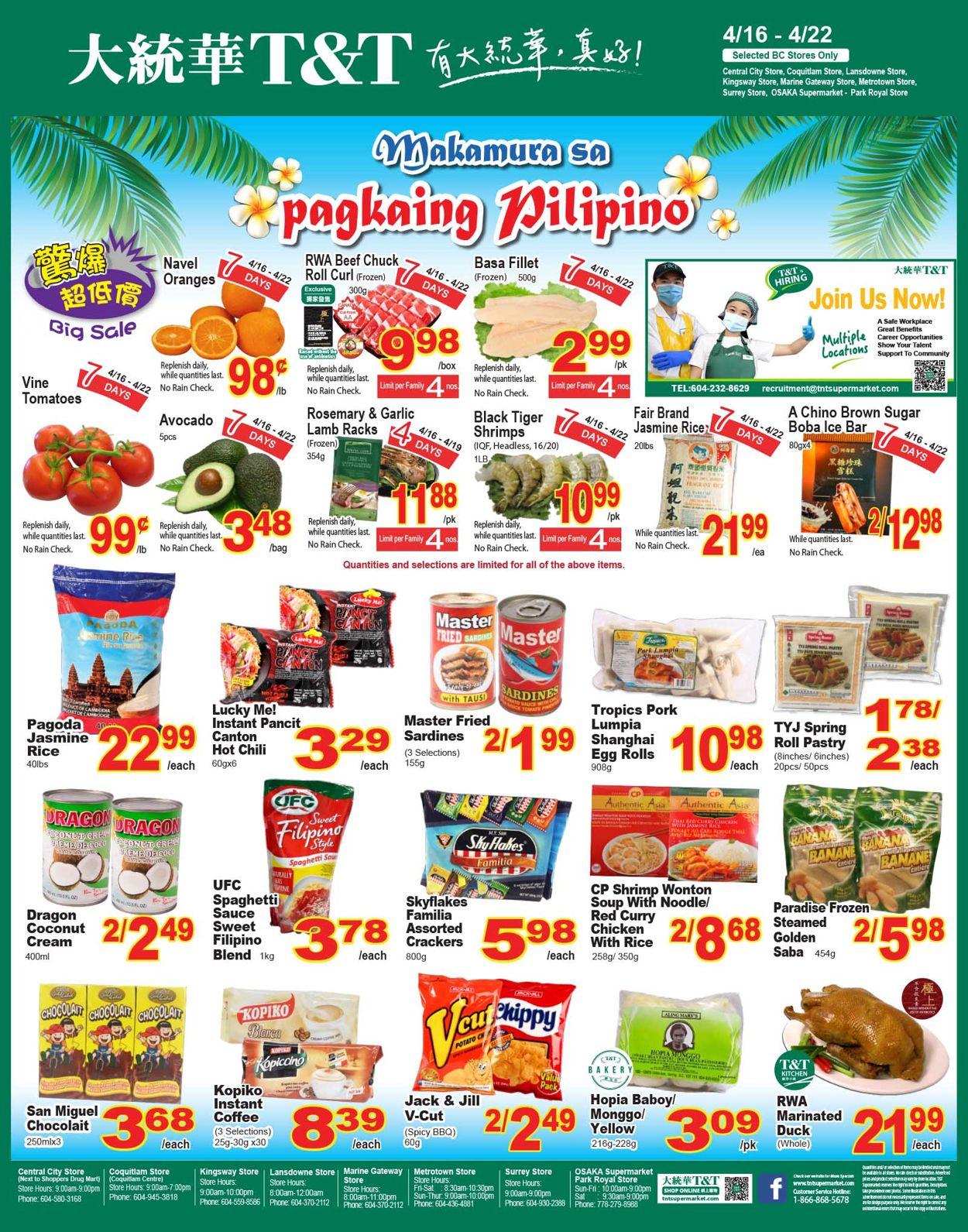 T&T Supermarket - British Columbia Flyer - 04/16-04/22/2021 (Page 4)