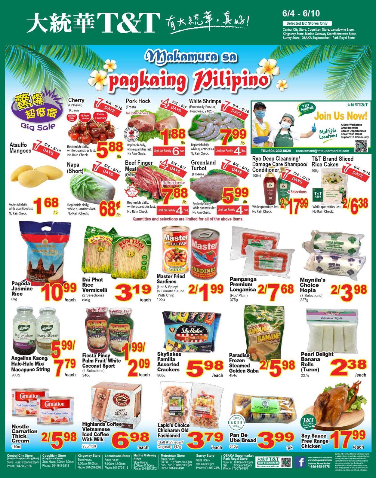 T&T Supermarket - British Columbia Flyer - 06/04-06/10/2021 (Page 4)