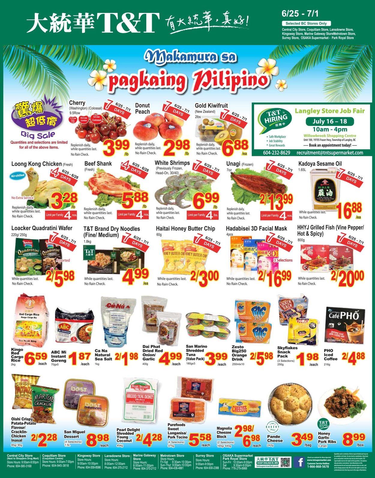 T&T Supermarket - British Columbia Flyer - 06/25-07/01/2021 (Page 5)