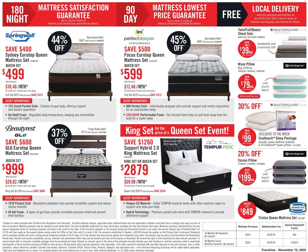 The Brick - Black Friday 2020 Flyer - 11/13-11/19/2020 (Page 9)