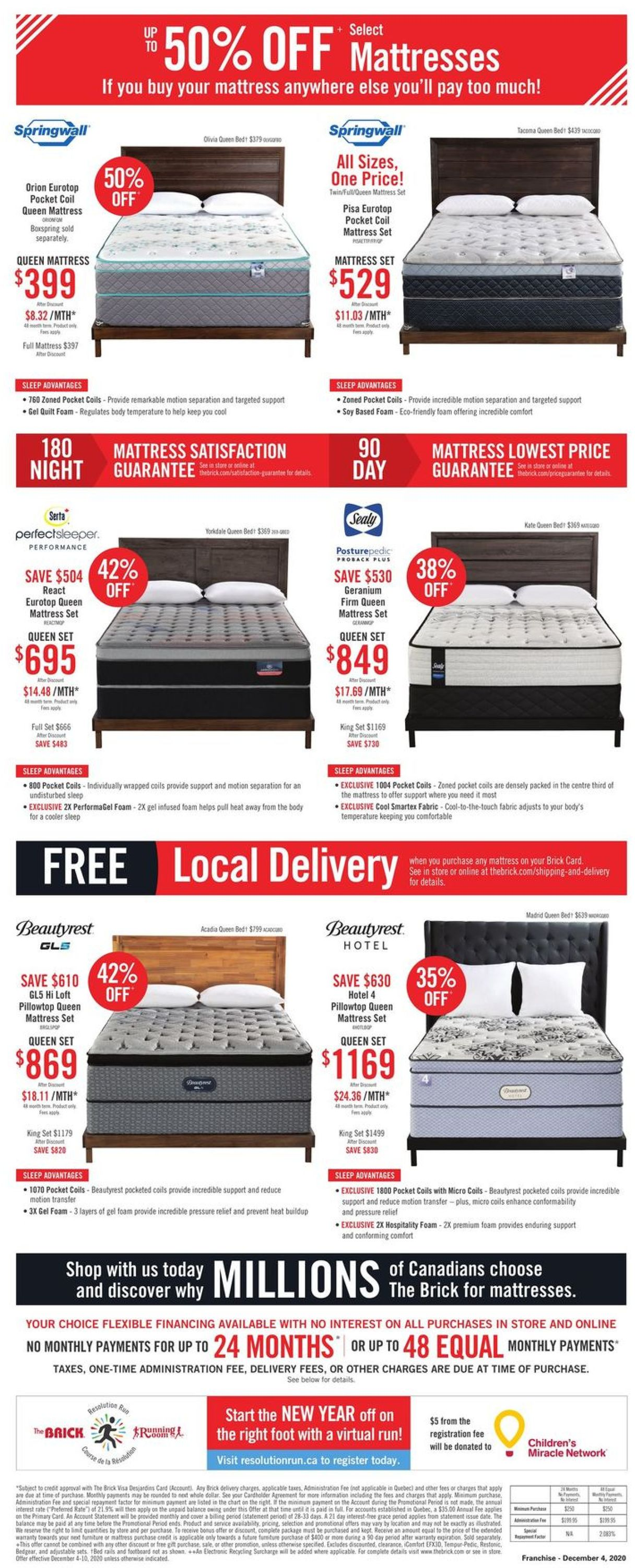 The Brick - Black Friday Extended 2020 Flyer - 12/04-12/10/2020 (Page 18)