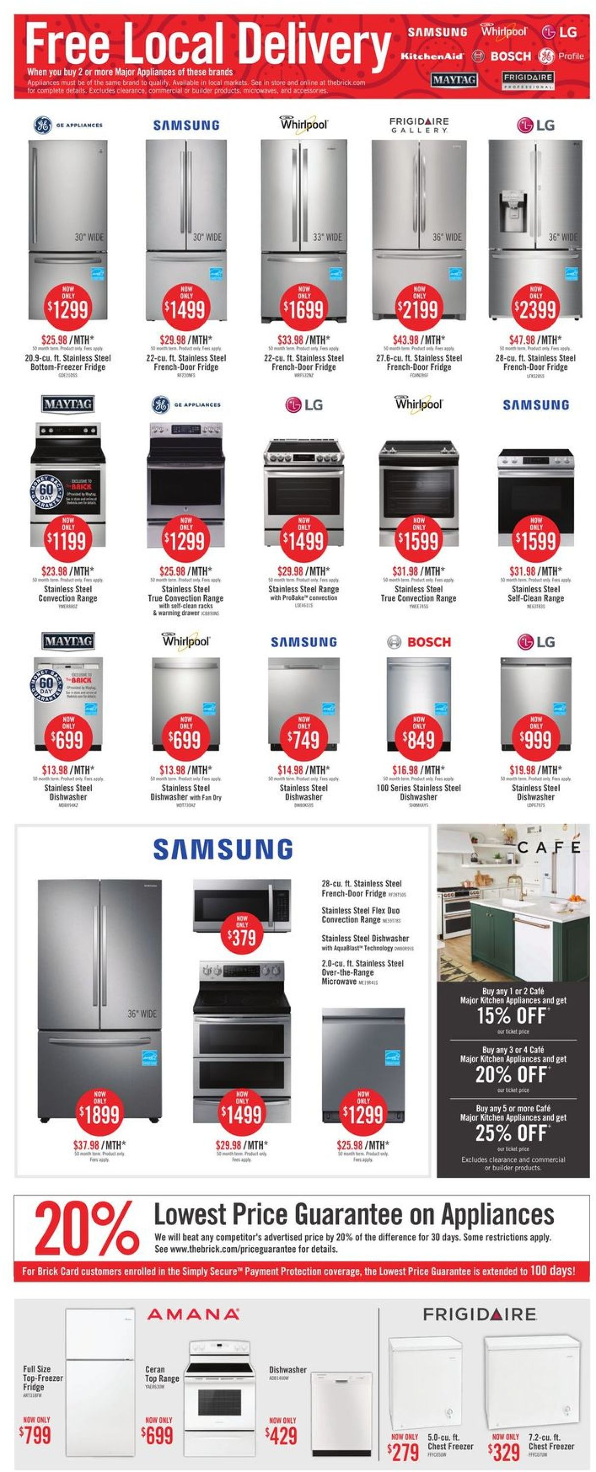 The Brick - 50 Hour Sale ! Flyer - 01/29-02/01/2021 (Page 6)