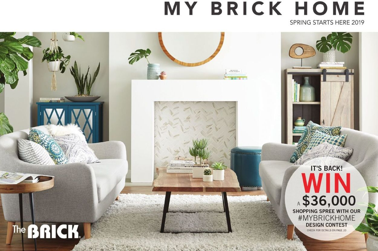 The Brick Flyer - 03/22-06/30/2019