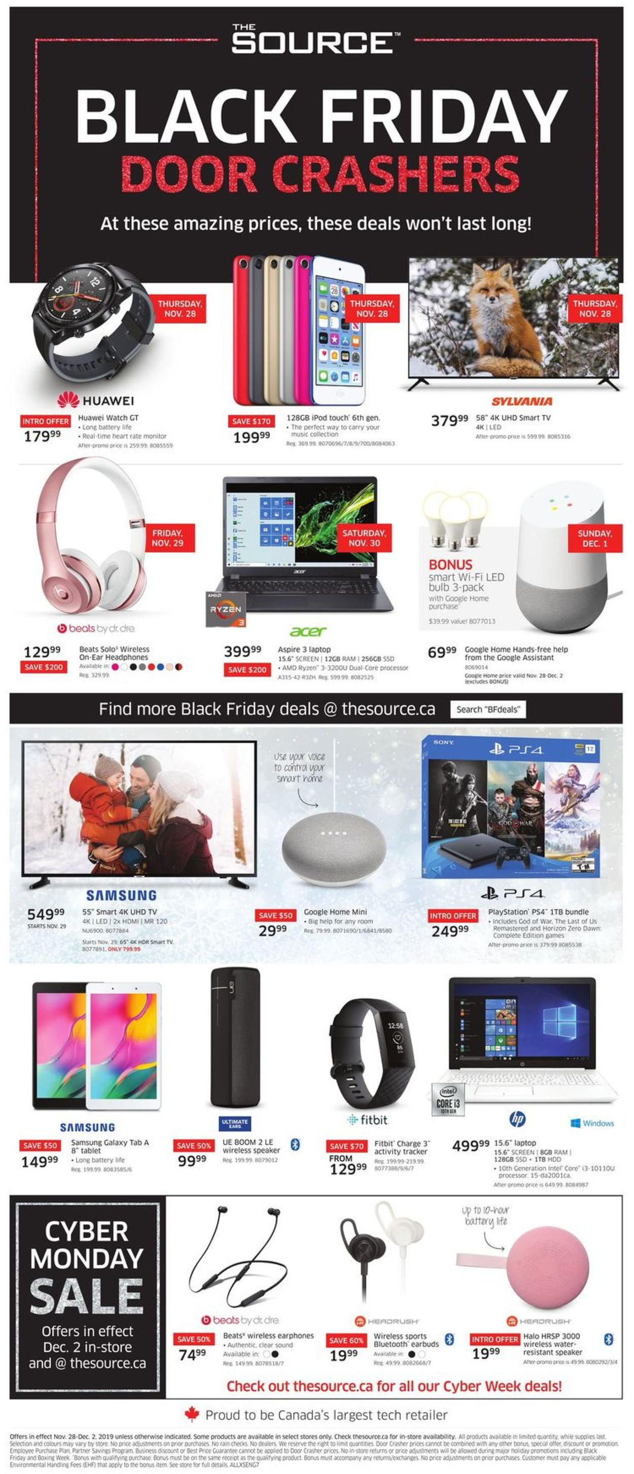 The Source BLACK FRIDAY 2019