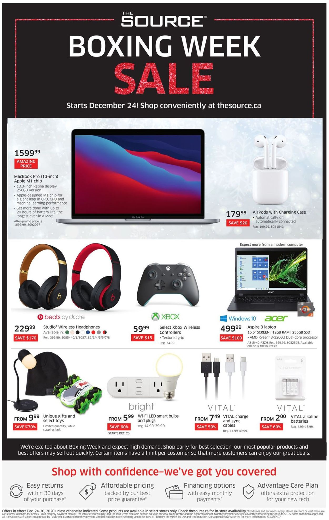 The Source Boxing Week Sale Flyer - 12/24-12/30/2020