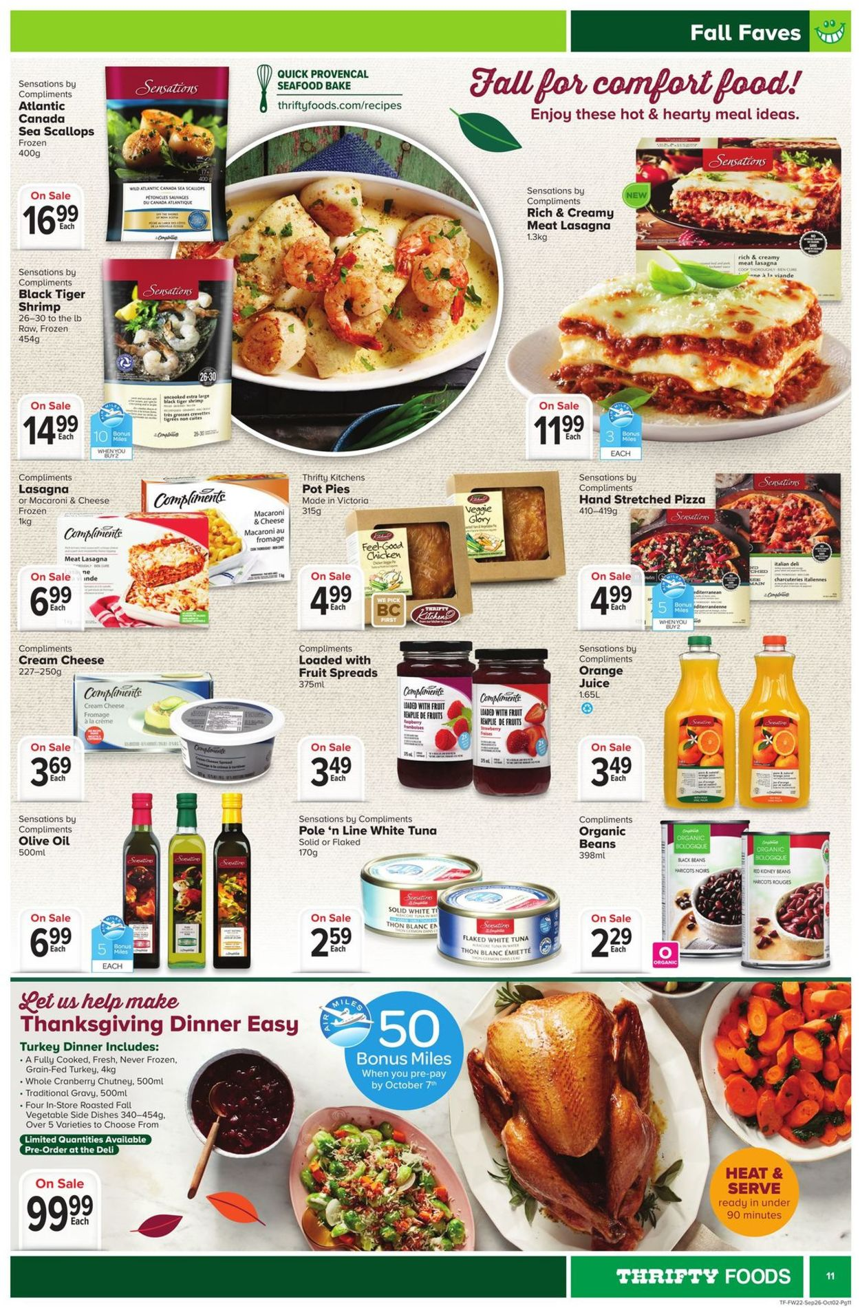 Thrifty Foods Flyer - 09/26-10/02/2019 (Page 11)