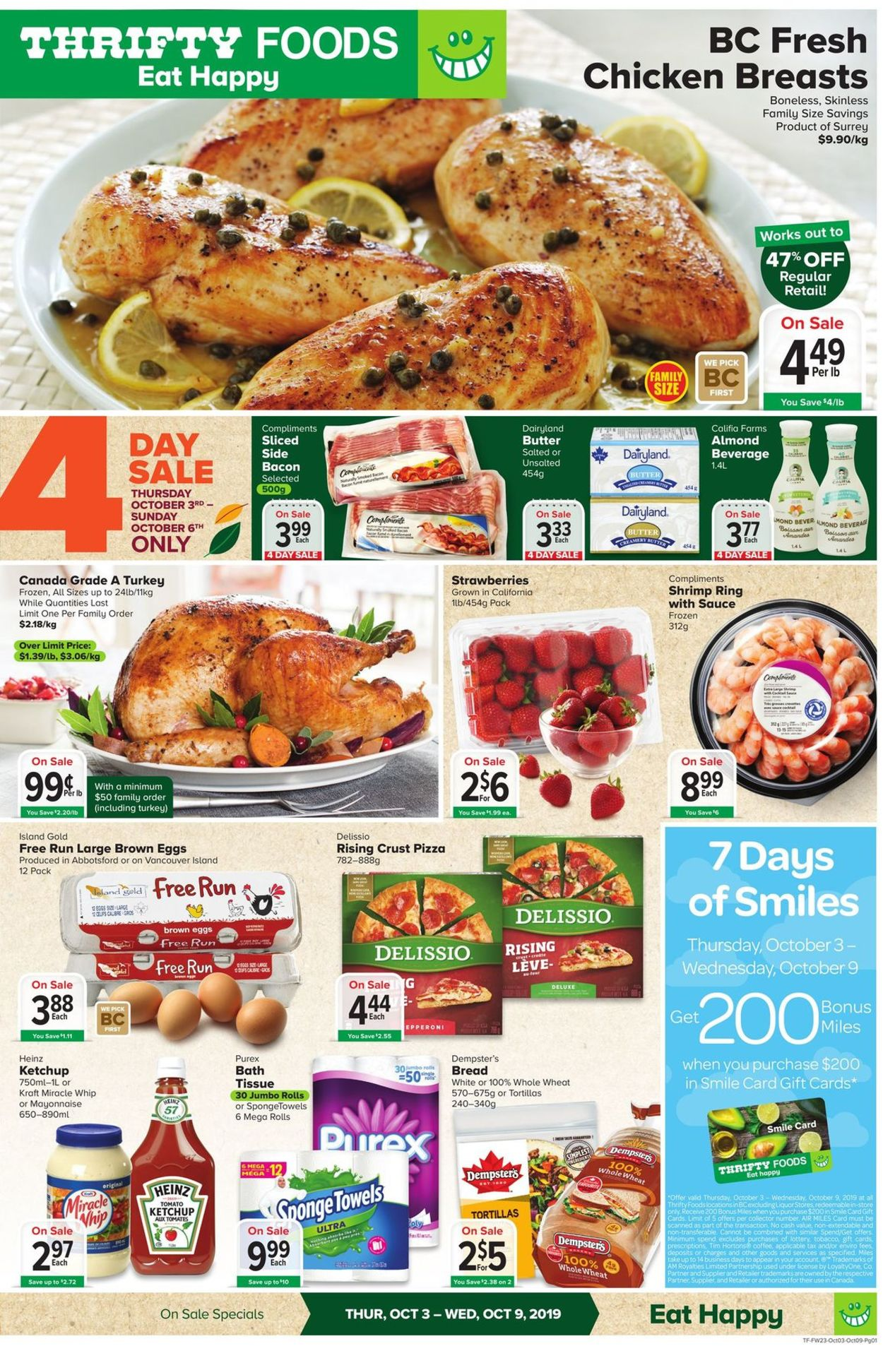 Thrifty Foods Flyer - 10/03-10/09/2019