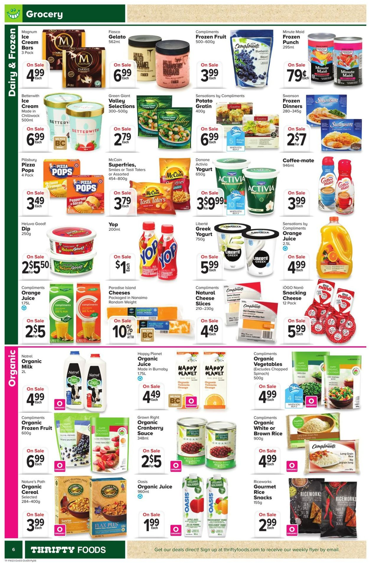 Thrifty Foods Flyer - 10/03-10/09/2019 (Page 6)