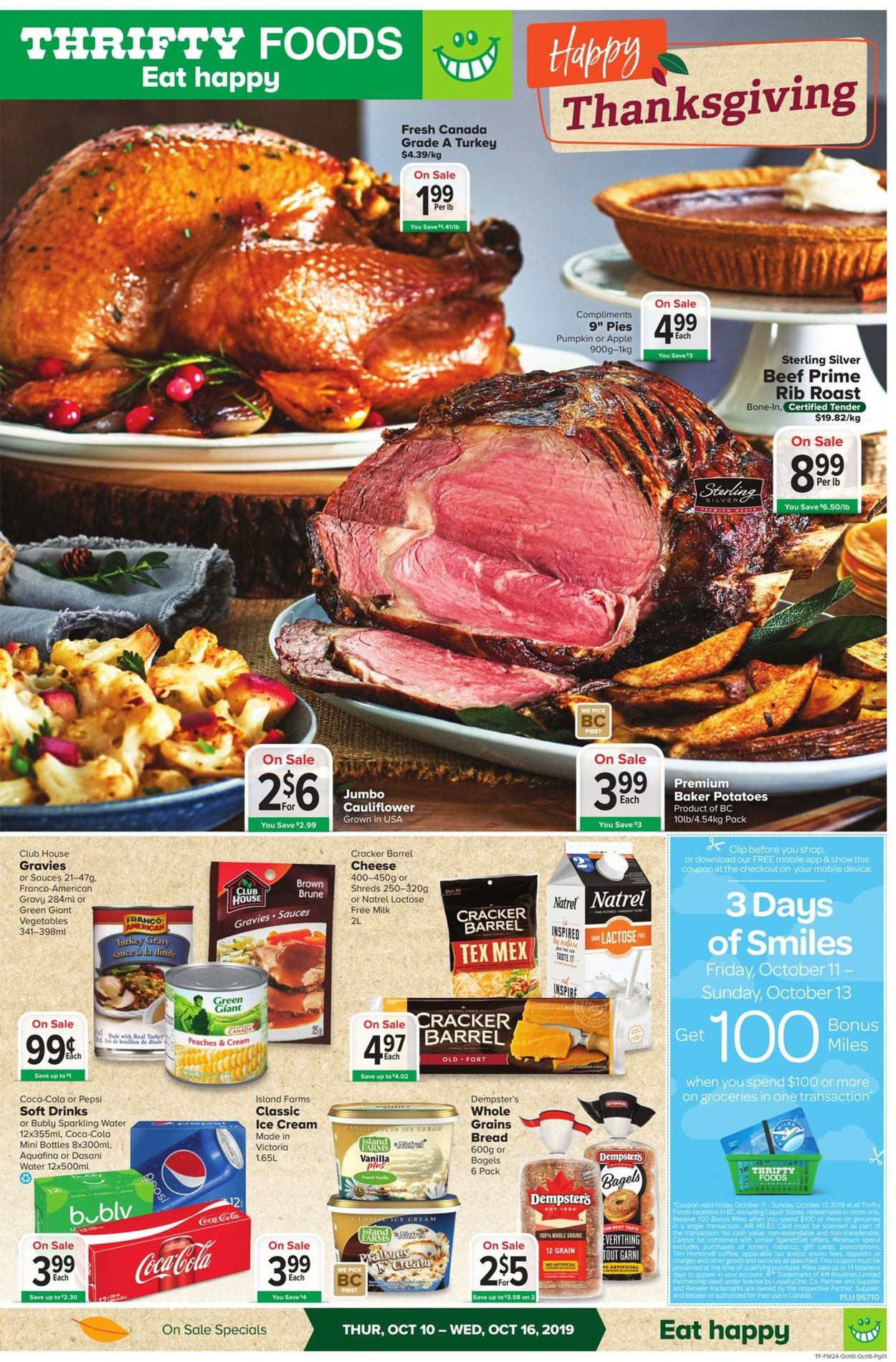 Thrifty Foods Flyer - 10/10-10/16/2019
