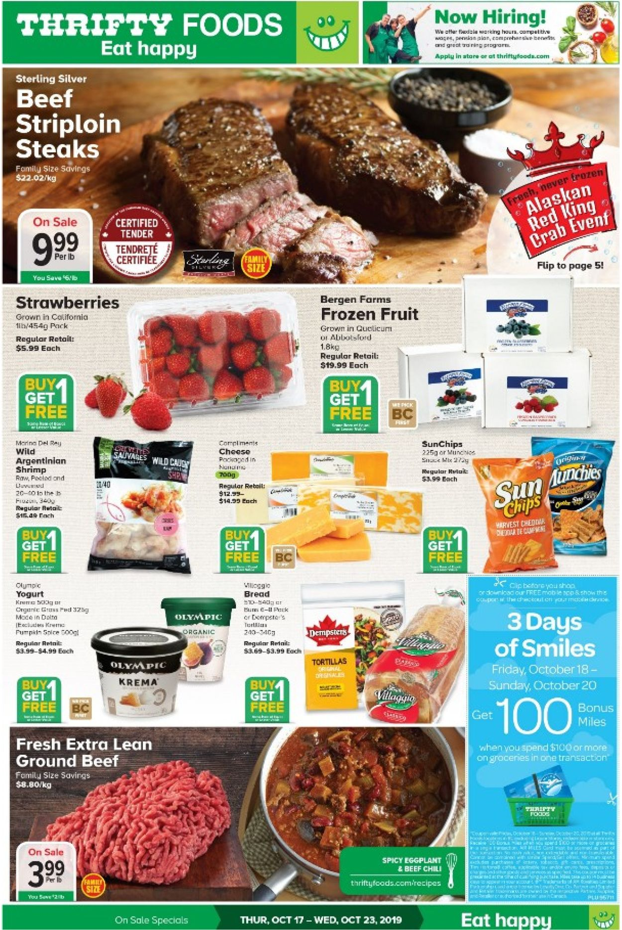 Thrifty Foods Flyer - 10/17-10/23/2019