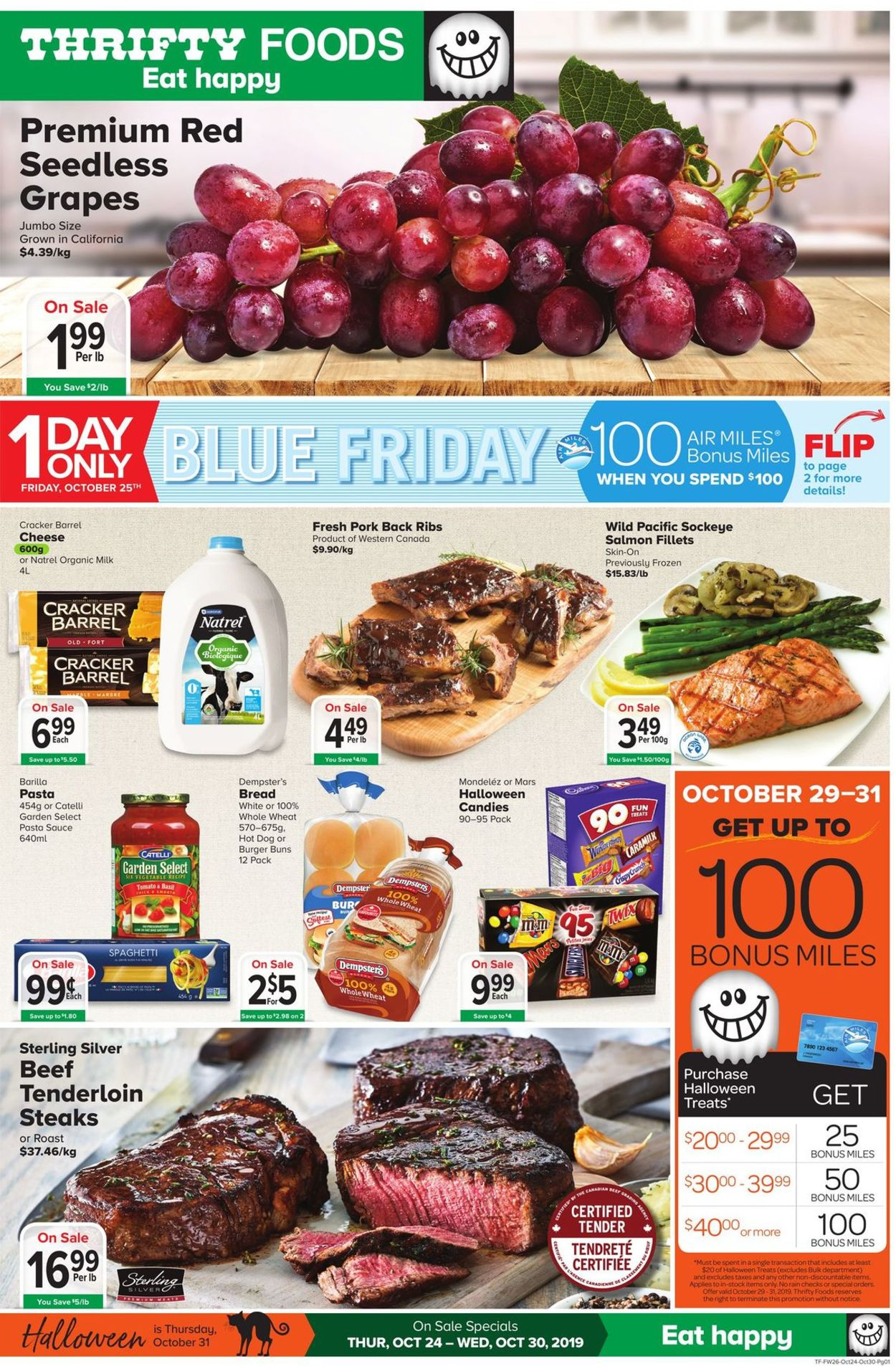 Thrifty Foods Flyer - 10/24-10/30/2019