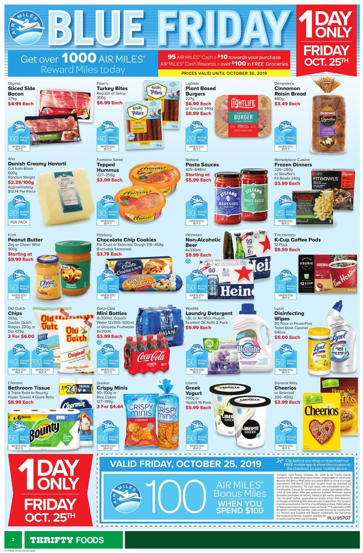 Thrifty Foods Flyer - 10/24-10/30/2019 (Page 2)