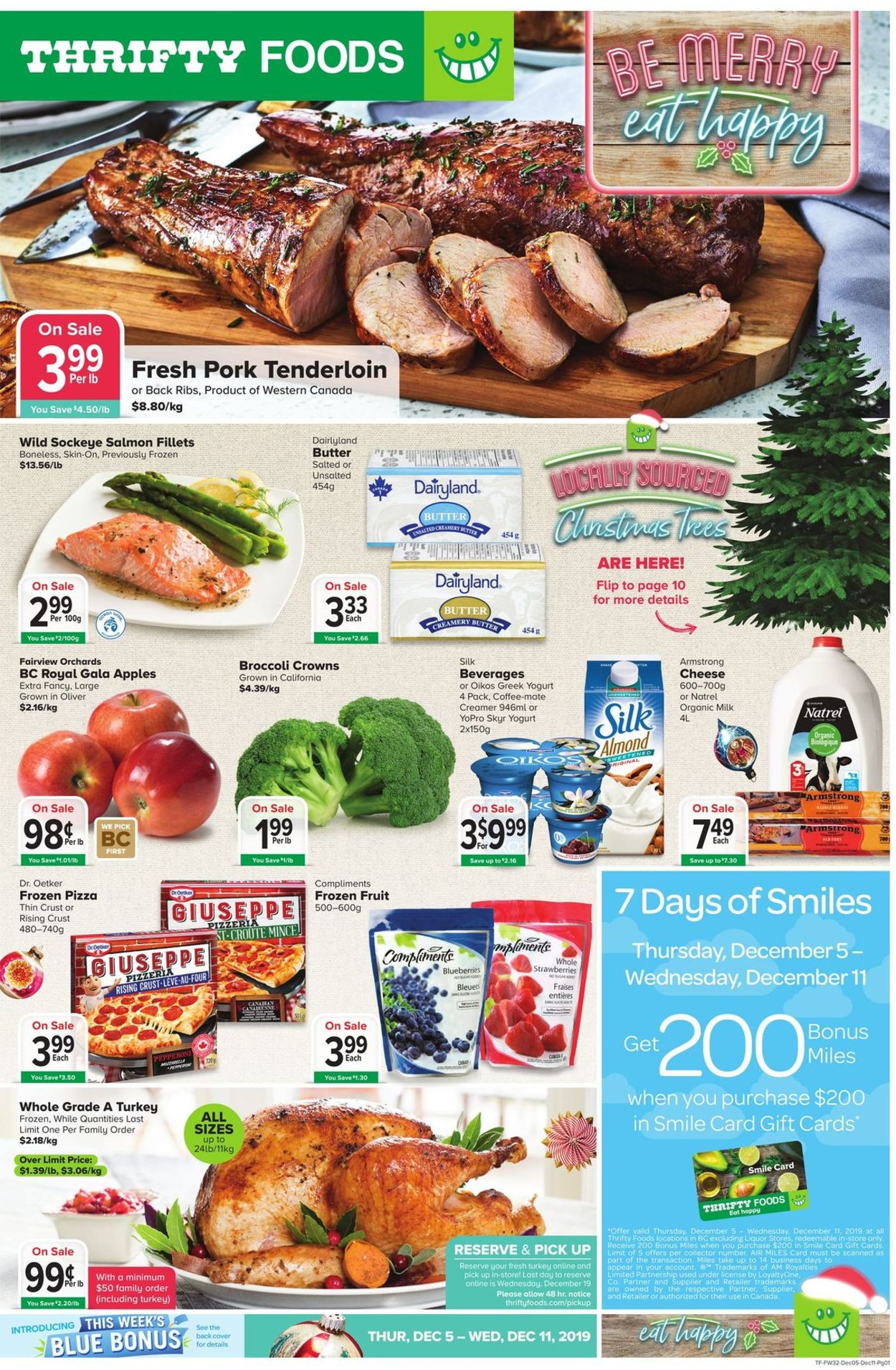 Thrifty Foods HOLIDAY FLYER 2019