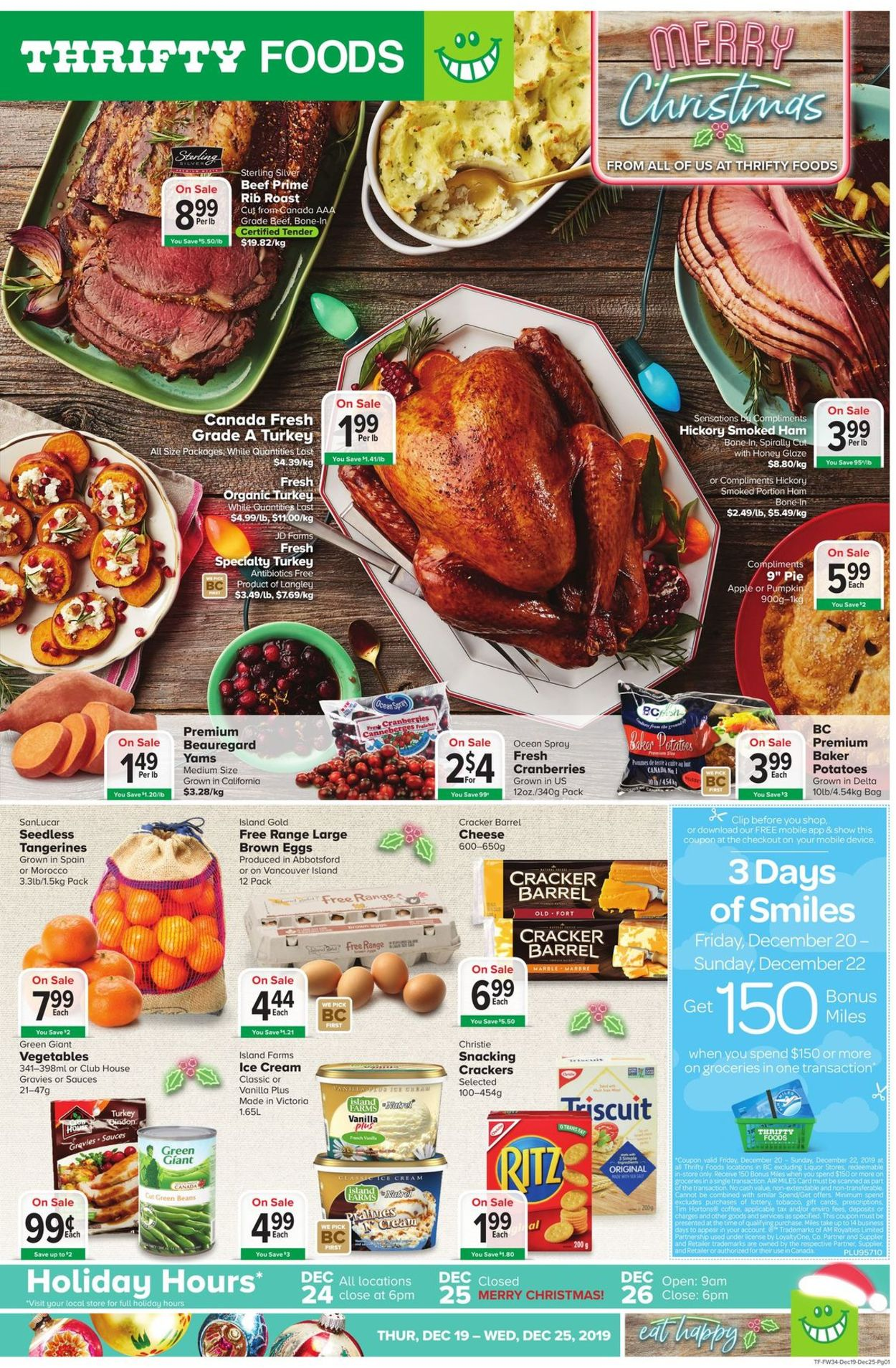 Thrifty Foods Flyer - 12/19-12/25/2019