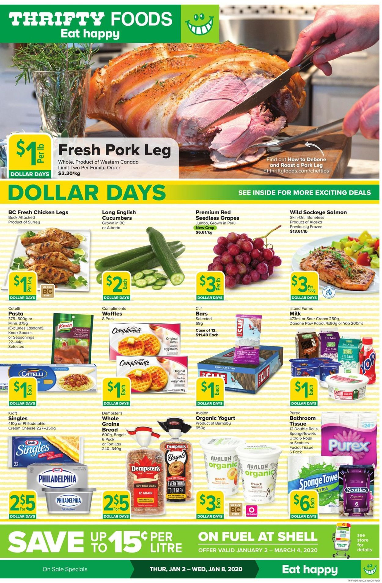 Thrifty Foods Flyer - 01/02-01/08/2020