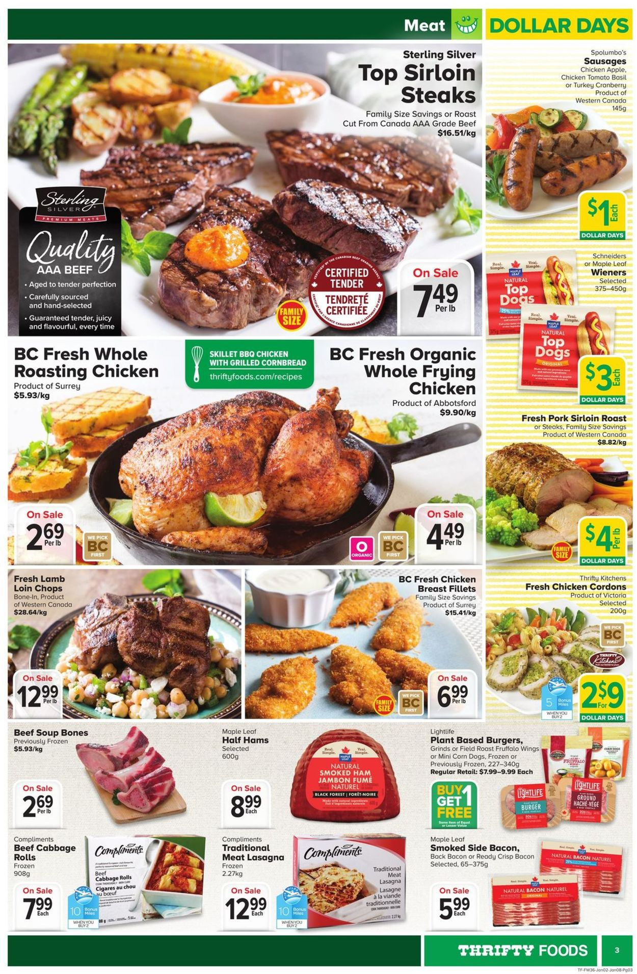 Thrifty Foods Flyer - 01/02-01/08/2020 (Page 3)