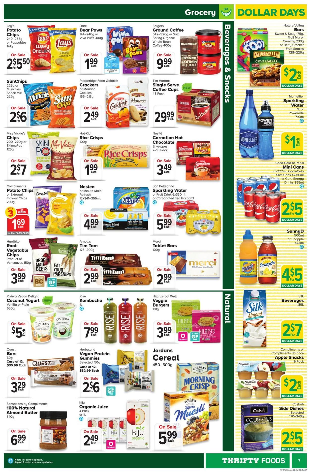 Thrifty Foods Flyer - 01/02-01/08/2020 (Page 7)