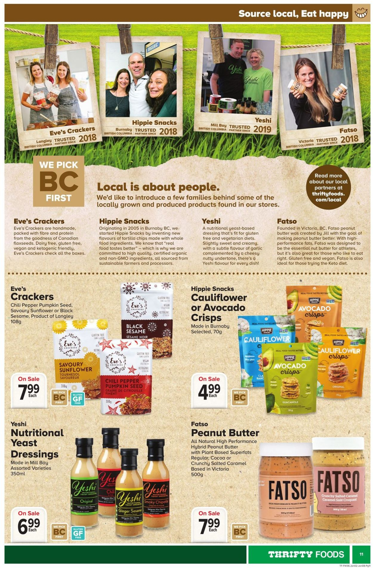 Thrifty Foods Flyer - 01/02-01/08/2020 (Page 11)