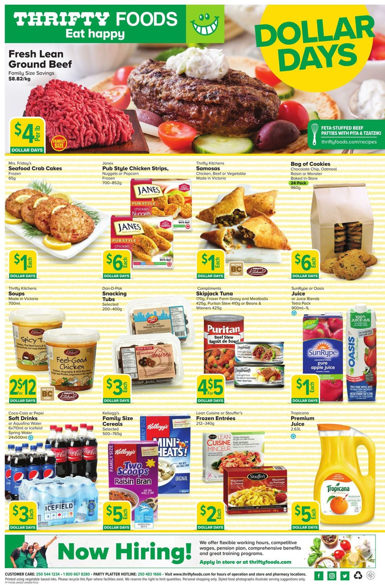 Thrifty Foods Flyer - 01/02-01/08/2020 (Page 12)