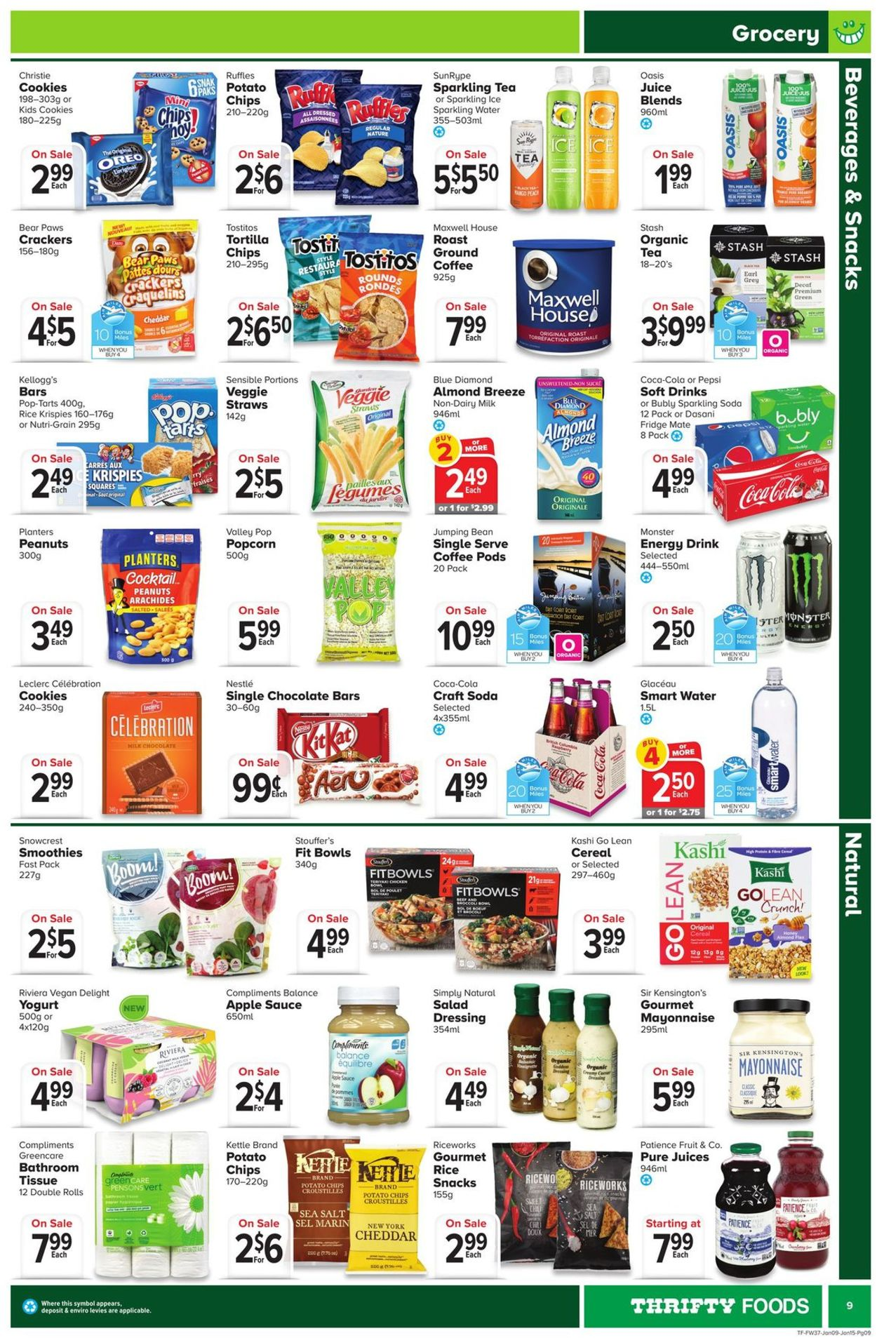 Thrifty Foods Flyer - 01/09-01/15/2020 (Page 9)