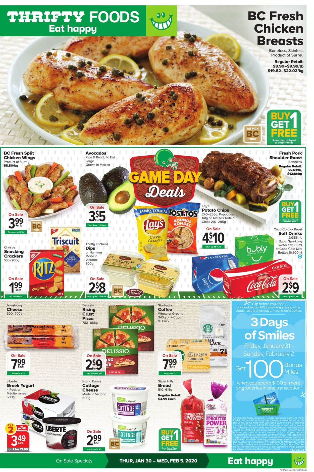 Thrifty Foods Flyer - 01/30-02/05/2020