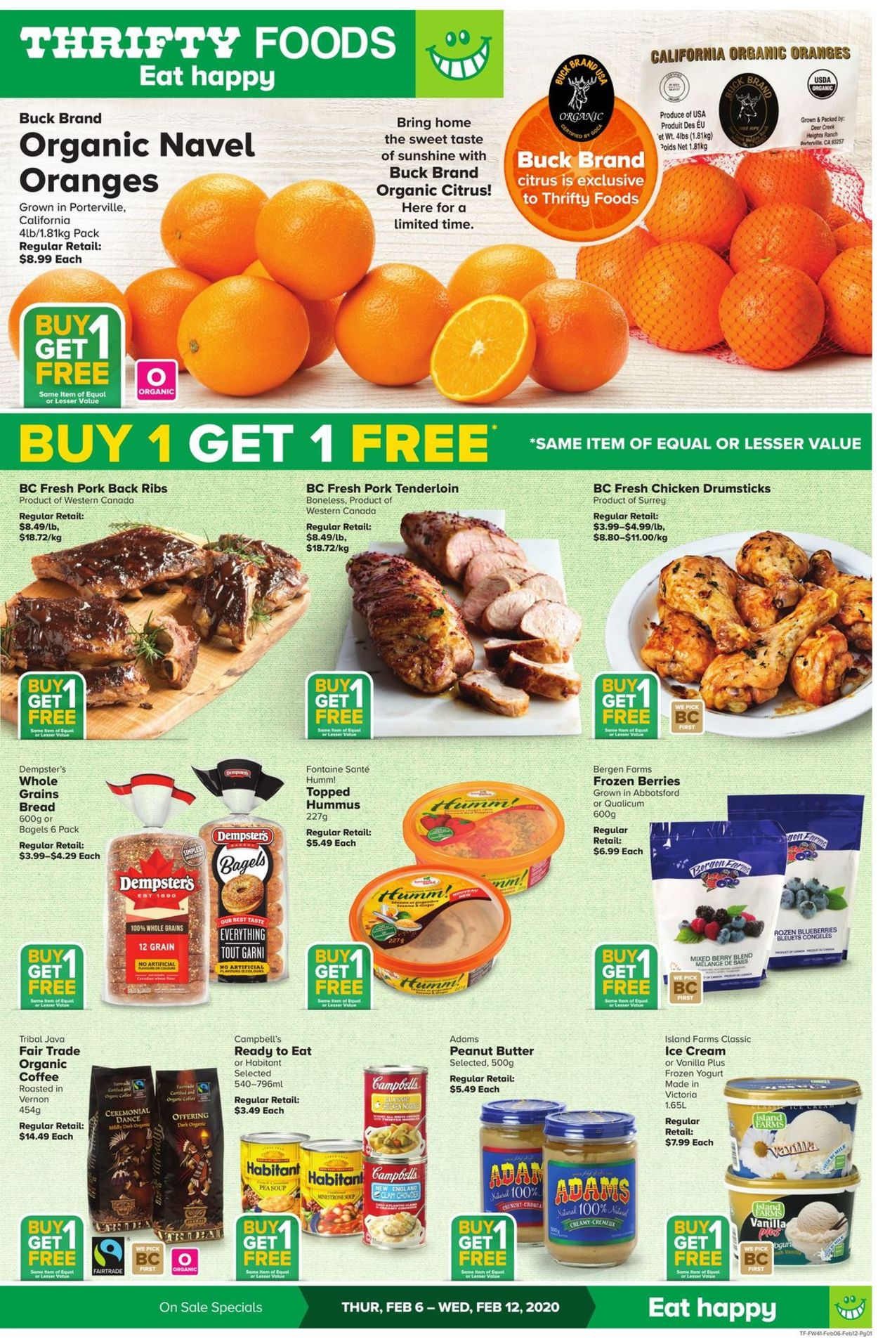 Thrifty Foods Flyer - 02/06-02/12/2020