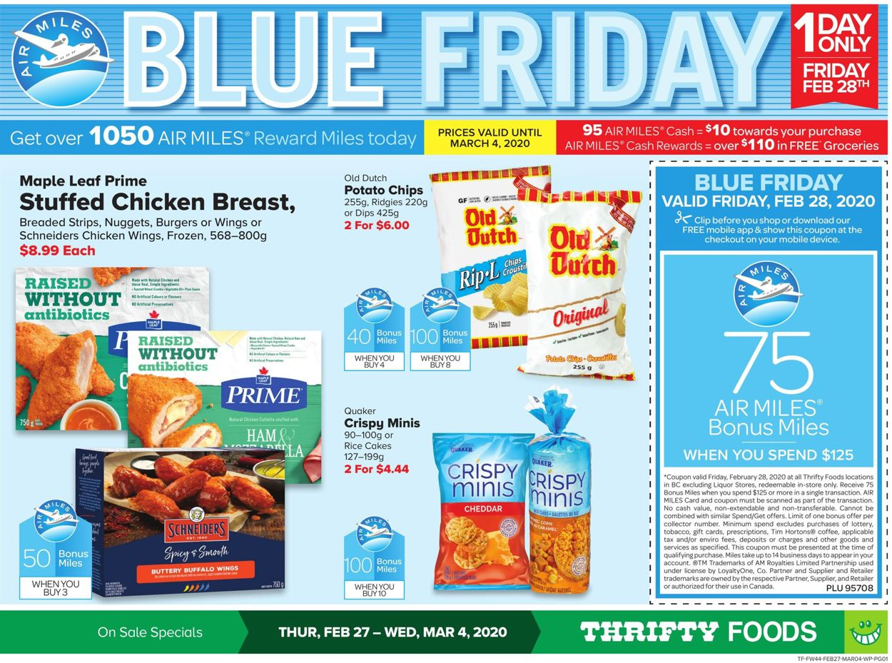 Thrifty Foods Flyer - 02/27-03/04/2020