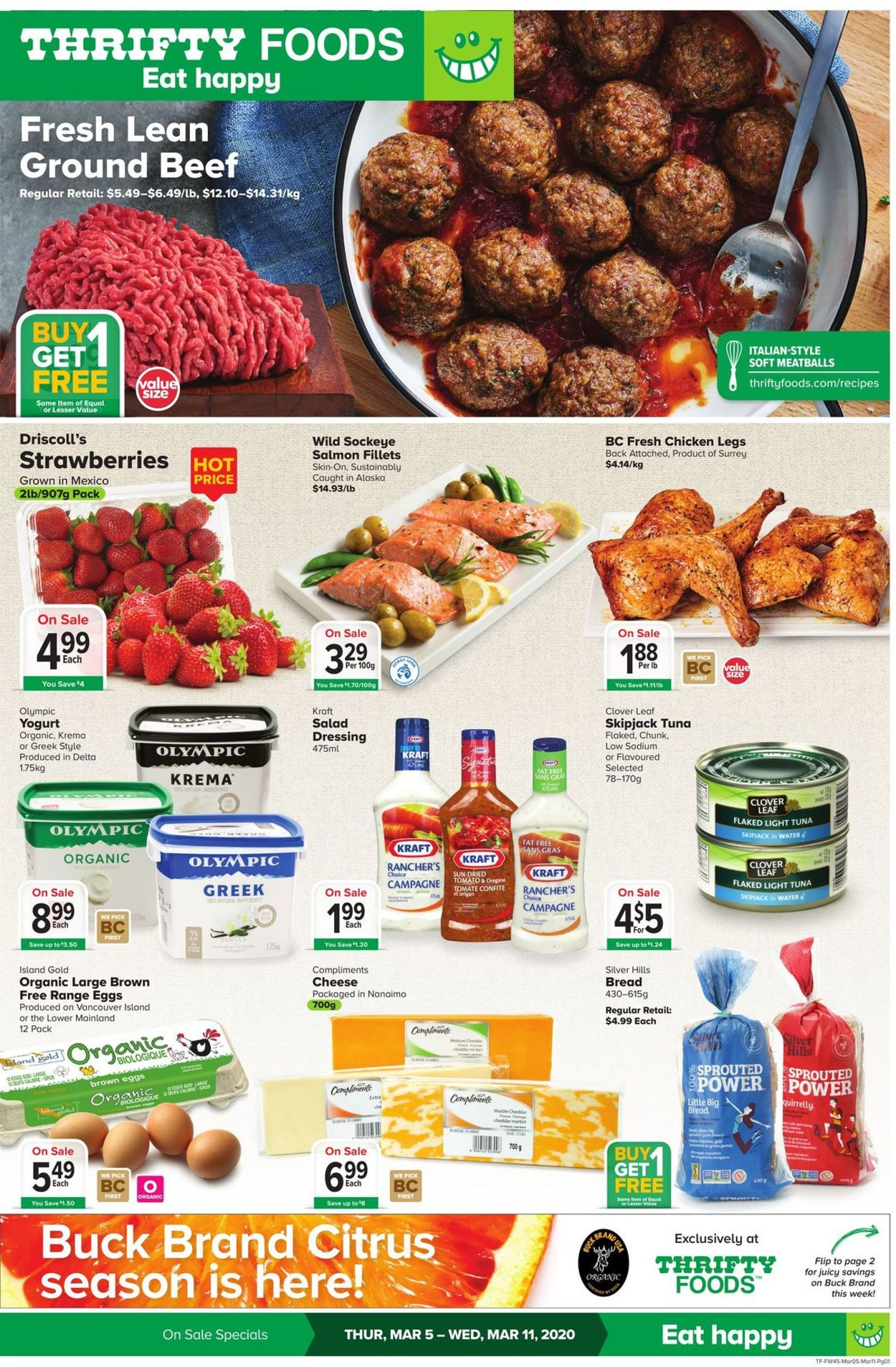 Thrifty Foods Flyer - 03/05-03/11/2020